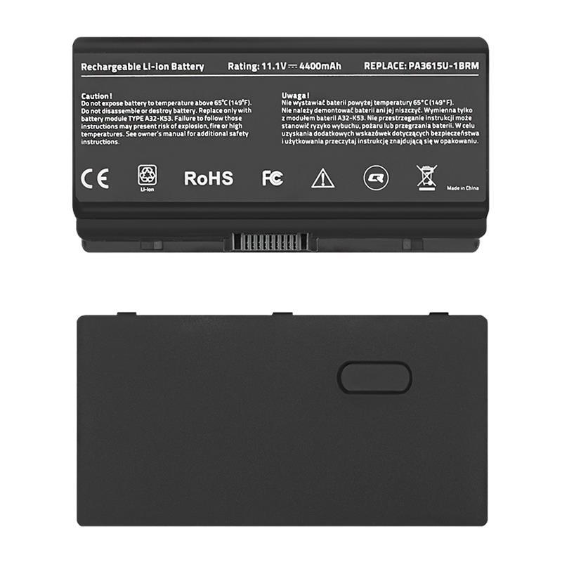 Qoltec Long Life baterie pro notebooky - Toshiba PA3615U   4400mAh   11.1V