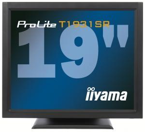 Iiyama LCD T1931SR-B1 19''LED dotykový, 5ms, VGA/DVI, repro, 1280x1024, č