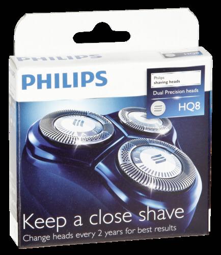 Holící frézky Philips HQ8/50, 3ks