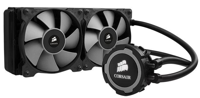 Corsair bezúdržbové vodní chlazení CPU Cooling™ Hydro Series H105, 2x120mm vent.