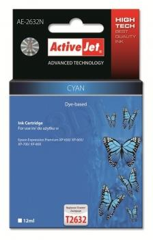 Ink ActiveJet AE-2632N | Cyan | 12 ml | Epson T2632