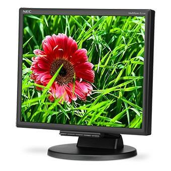 NEC LCD MultiSync E171M 17'' LED, 5ms, VGA/DVI, repro, 1280x1024, HAS, č