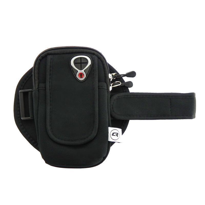 Qoltec Sportovní pouzdro na mobil | černá