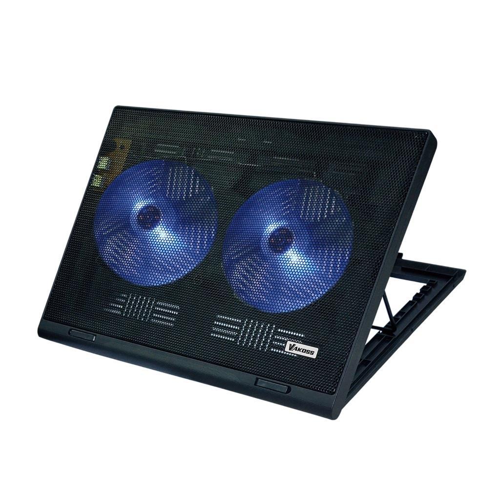 VAKOSS Chladící podložka pod notebook 17'' LF-2463 černá