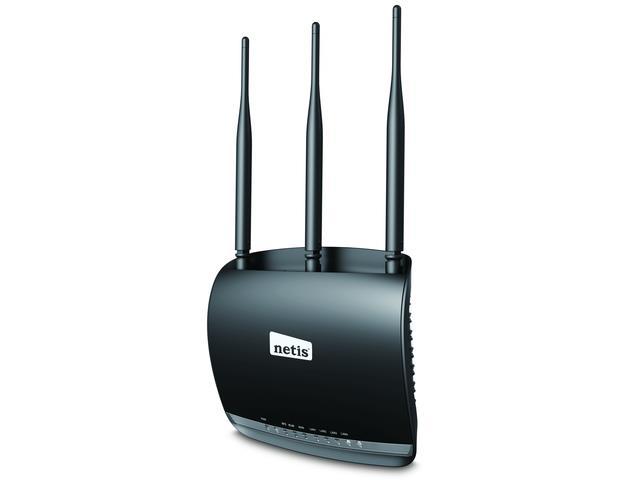 Netis WF2533 WiFi N300 Router, 4x LAN, 3x 5dBi Antena high power