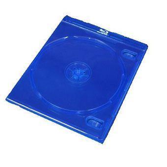 Esperanza Plastové krabičky na 1 Blu-ray 10mm | 5 ks, modré