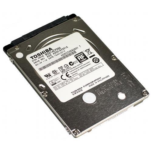 Toshiba HDD 2.5'' 500GB, SATA/300, 16MB cache, 7200RPM