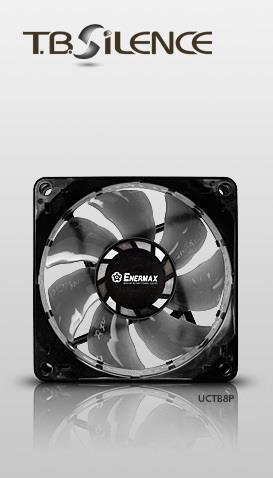 Cooler T.B. SILENCE PWM UCTB8P 8cm x 8cm x 2,5cm