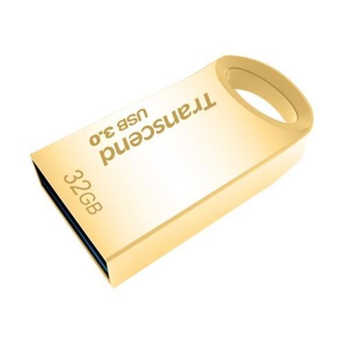 TRANSCEND USB Flash Disk JetFlash®710G, 32GB, USB 3.0, Gold (R/W 90/20 MB/s)