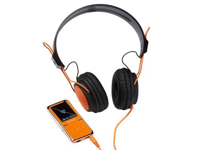 Intenso MP4 player 8GB Video Scooter LCD 1,8'' Orange + Headphones