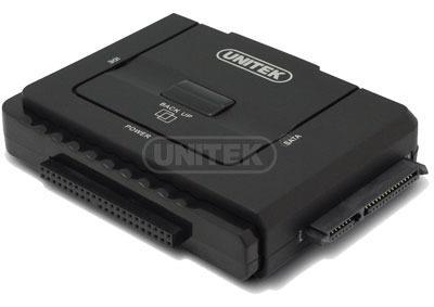 Unitek Y-3322 adaptér USB 3.0 - IDE+SATA III