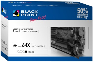 Toner Black Point LBPPH64X | Black | 27000 p. | HP CC364X
