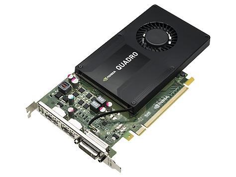 HP nVidia Quadro K2200 4GB GDDR5 128-bit PCIe x16 Card