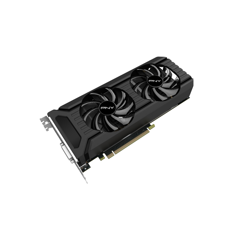 PNY GeForce GTX 1060, 6GB GDDR5 (192 Bit), HDMI, DVI, 3xDP
