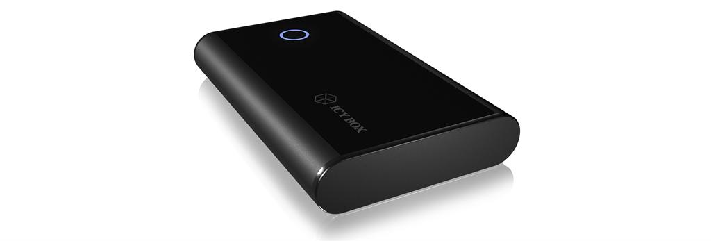 IcyBox External 3,5'' HDD Case SATA I/II/III, USB 3.0, Black