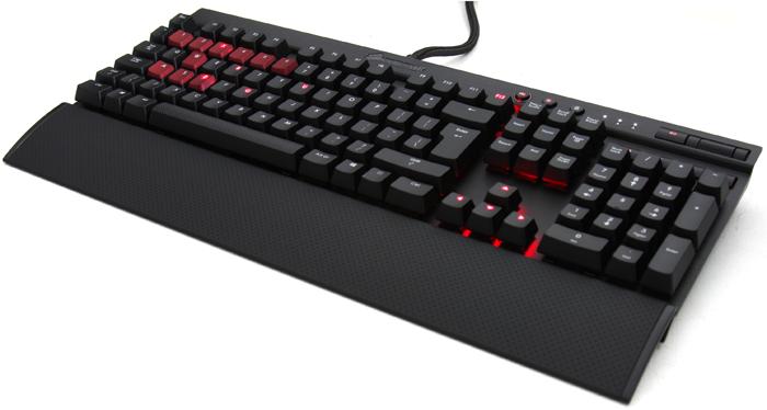 Corsair mechanická herní klávesnice K70 RAPIDFIRE, Cherry MX Speed, EU