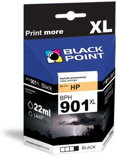 Ink Black Point BPH901XL   Black   22 ml   HP CC653AE