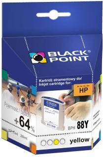 Ink Black Point BPH88Y | Yellow | 28 ml | 2190 p. | HP C9393