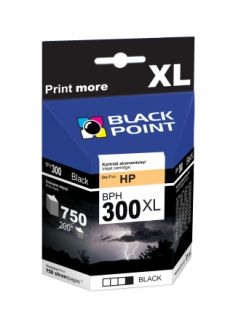 Ink Black Point BPH300XL   Black   21 ml   750 p.   HP CC641EE