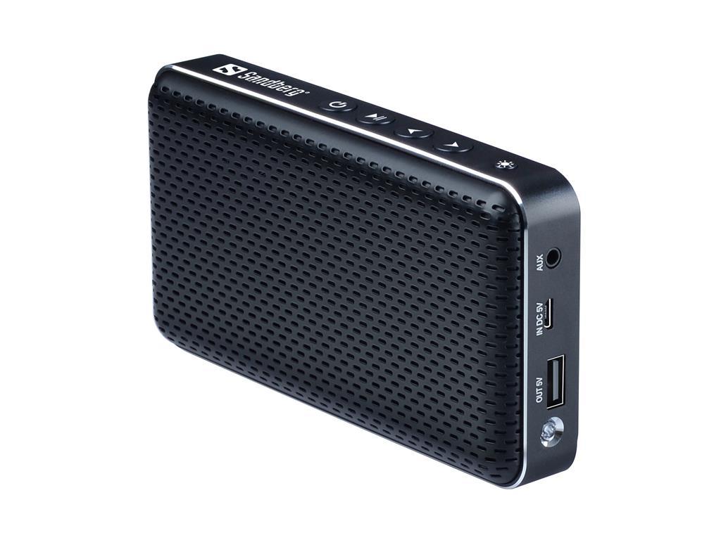 Sandberg Bluetooth Buddy přenosný reproduktor + externí baterie