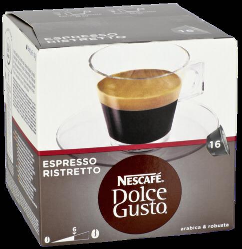 Kapsle NESCAFÉ® Espresso Ristretto 16 ks k Dolce Gusto™