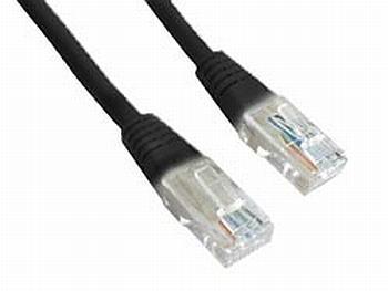 Gembird Patch kabel RJ45, cat. 5e, UTP, 0.5m, černý