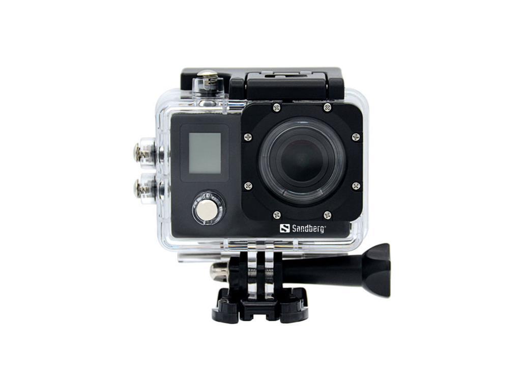 Sandberg ActionCam 4K Waterproof + WiFi akční kamera
