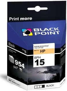 Ink Black Point BPH15   Black   42 ml   954 p.   HP C6615