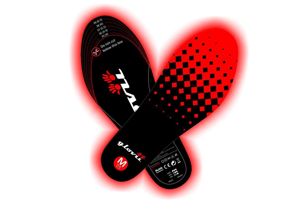 SUNEN Glovii - Vyhřívané vložky do bot, velikost L-XL