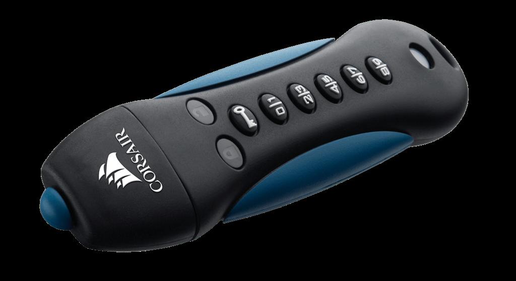 Corsair Flash Padlock 3 64GB Secure USB 3.0, Secure 256-bit hardware AES
