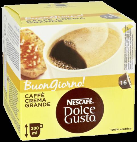 Kapsle Nescafe Dolce Gusto Caffee Crema Grande