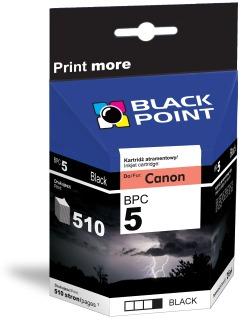 Ink Black Point BPC5BK | Black | Chip | 26 ml | 510 p. | Canon PGI-5BK