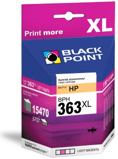 Ink Black Point BPH363LM   Light magenta   10 ml   15470 p.   HP C8775