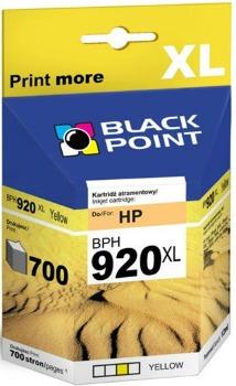 Ink Black Point BPH920XL   Yellow   12 ml   700 p.   HP CD974AE