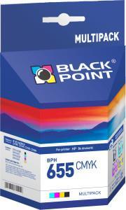 Ink cartridge Black Point BPH655CMYK   MULTIPACK (CMYK)   0 ml   HP b.d.