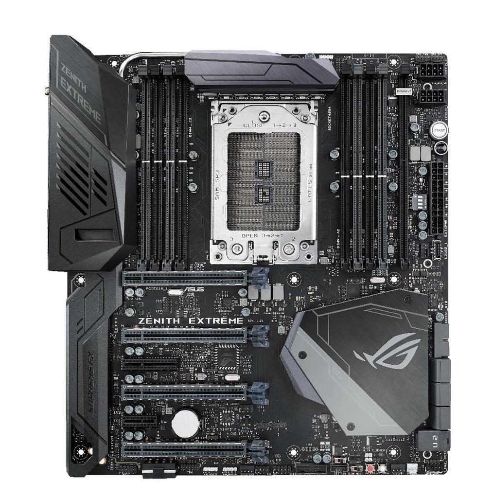 ASUS ROG ZENITH EXTREME, AMD X399, 6xSATA 6Gb/s, 8xUSB 3.1 Gen1