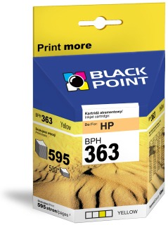 Ink Black Point BPH363Y   Yellow   10 ml   595 p.   HP C8773