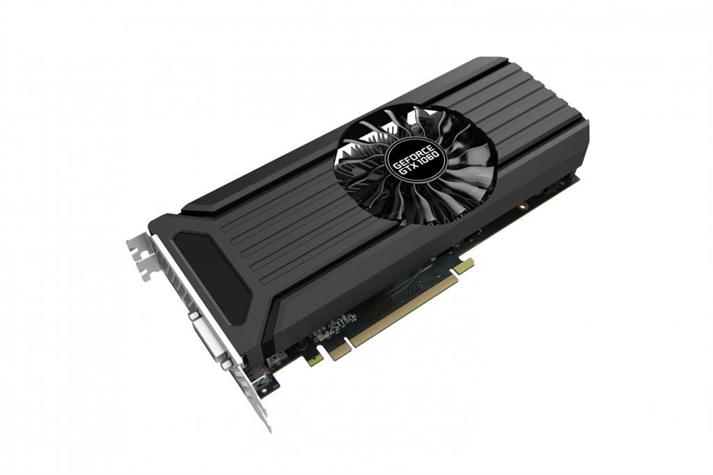 PALIT GeForce GTX 1060 3GB StormX OC HDMI + 3*DP + Dual DVI-I