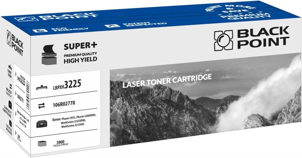 Toner Black Point LBPX3225 | black | 3 000 pp | Xerox 3052 / 3260VDNI / 3215VNI