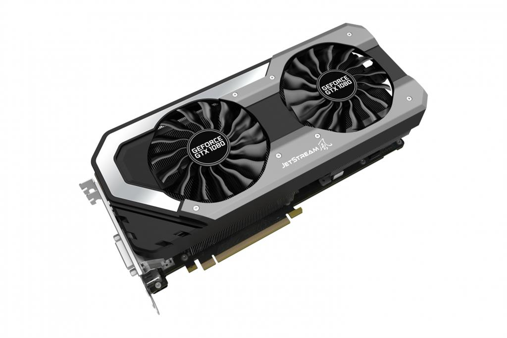 PALIT GeForce GTX 1080 Jetstream, 8GB GDDR5X (256 Bit), HDMI, DVI, 3xDP