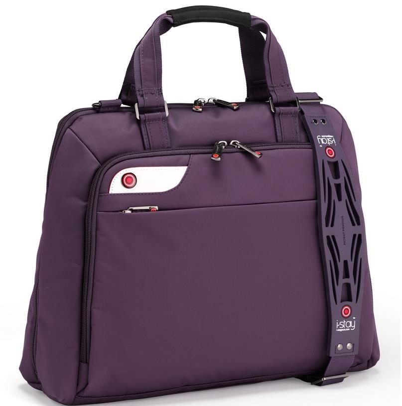 I-stay Launch Ladies Laptop Bag 15.6'' purple