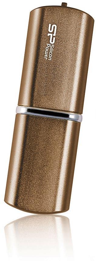 Silicon Power flash disk USB LuxMini 720 8GB USB 2.0 hliníkový,matný bronz
