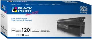 Toner Black Point LBPPL120 | Black | 2800 p. | Lexmark 12016SE