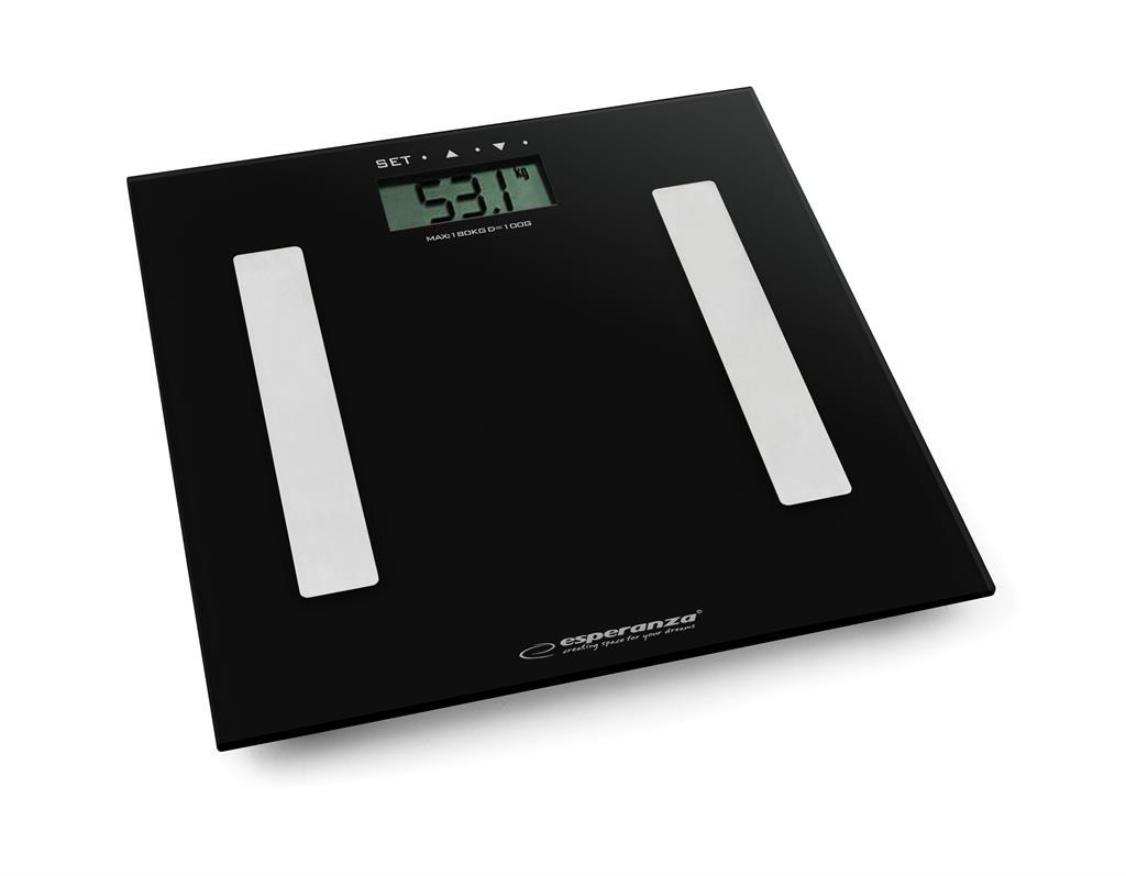 Esperanza EBS001K FITNESS osobní digitální váha, černá