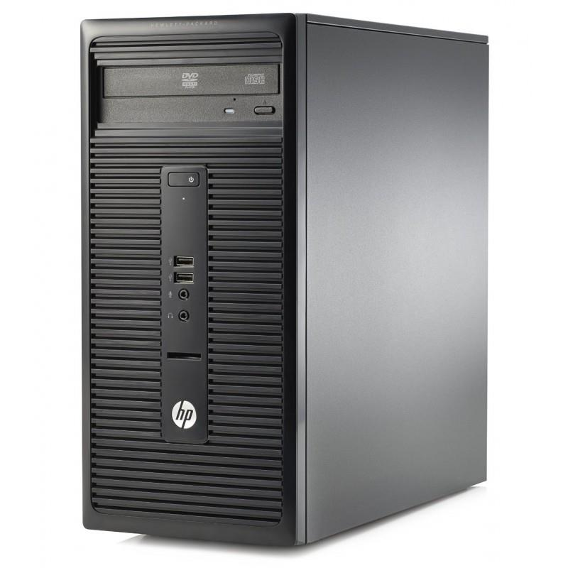 HP 280 G1 MT PENTIUM 32504GB 500GB INTEL DVDRW Win 10 Home ENG Klav