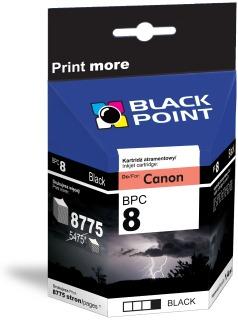 Ink Black Point BPC8BK | Black | Chip | 14 ml | Canon CLI-8BK