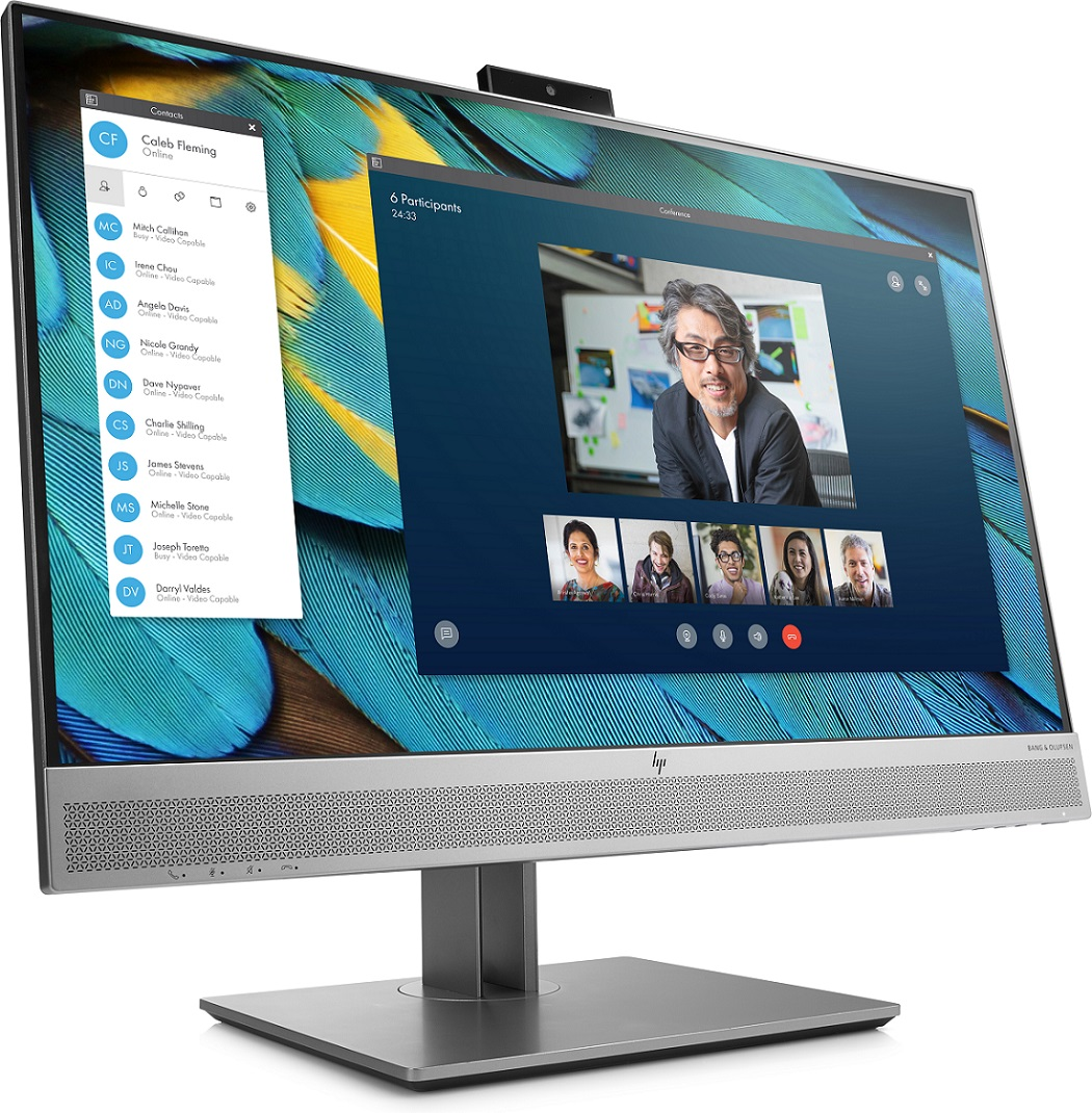 "HP E243m 23.8"" IPS 1920x1080/250/1000:1/VGA/DP/HDMI/B&O/5ms"