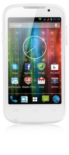 "PRESTIGIO MultiPhone 3400 DUO 4"", Dual SIM, 1.2GHz dual-core, 800*480, Android 4.2, 4GB, Wi-Fi, 3G, bílý"