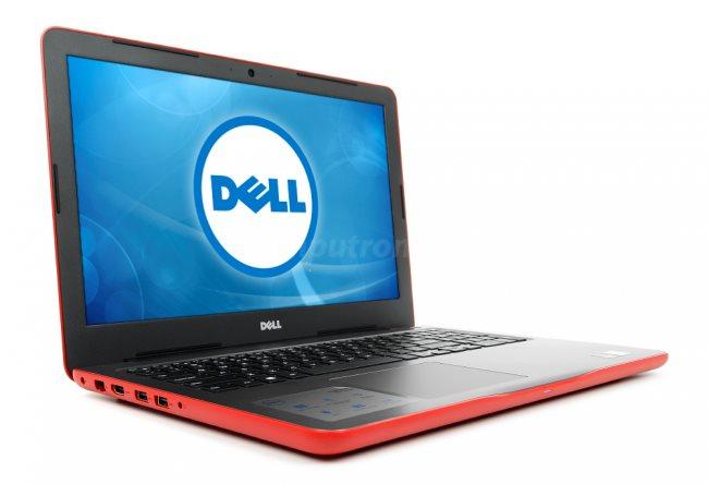 """DELL Inspiron 5567/i3-6006U/4GB/128GB/15,6""""/HD/2GB M440/Win10 64bit Červená"""