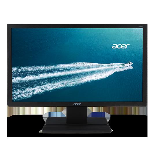 Acer LCD V246HLbmd 24'' LCD, LED, 1920 x 1080, 100M:1, 5ms, DVI, repro, Black, TCO 6.0